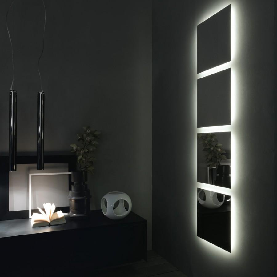 Specchio modello 2hd di Rifra (160x55 cm) filolucido - Store MAES srl