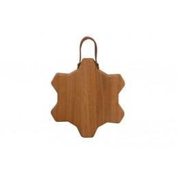 Tagliere in legno di quercia serie Transmission diam. 22 cm