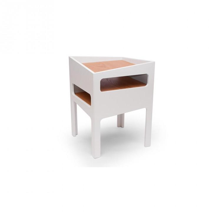 Tavolino modello Trick colore bianco