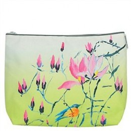 Washbag by Designers Guild Madame Butterfly lime