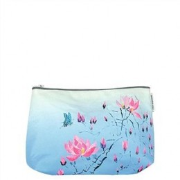 Washbag by Designers Guild Madame Butterfly cerulean