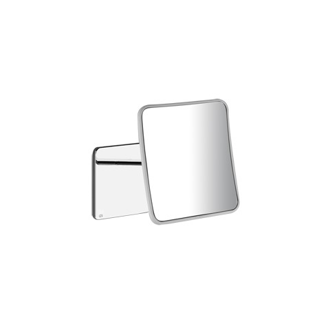 Wall mounted adjustable mirror iSpa by Gessi