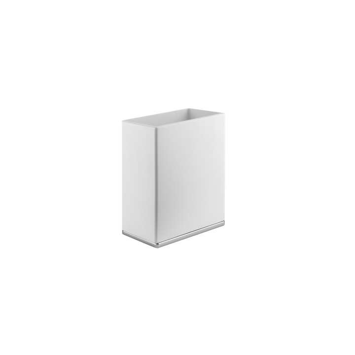 White waste-paper basket iSpa by Gessi 145x215 cm