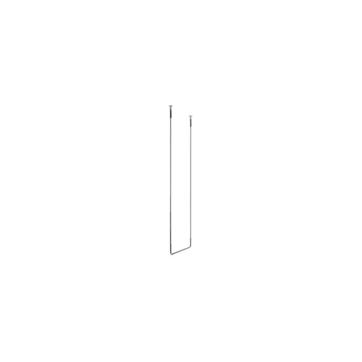 Porta salviette da soffitto interasse 45 cm h cm 160 serie Goccia di Gessi