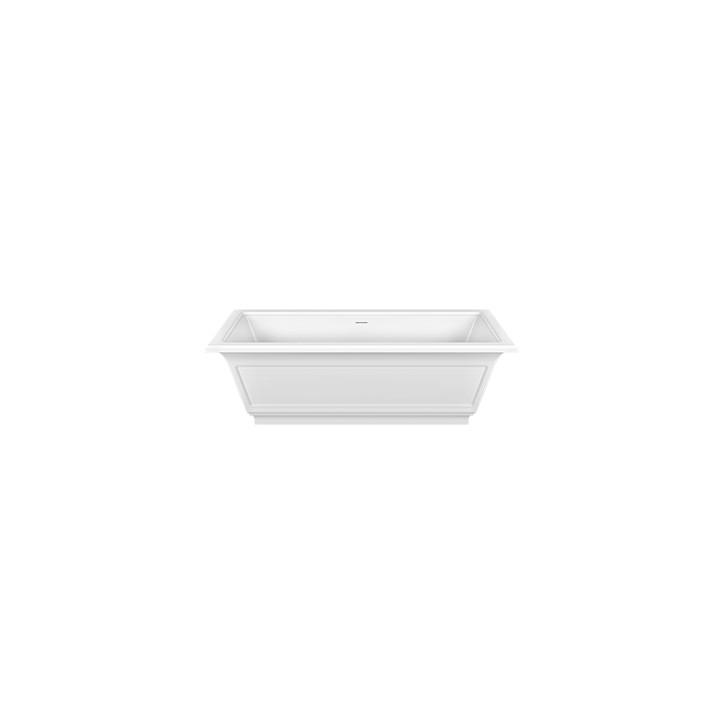 Freestanding bathtube in Cristalplant Eleganza by Gessi