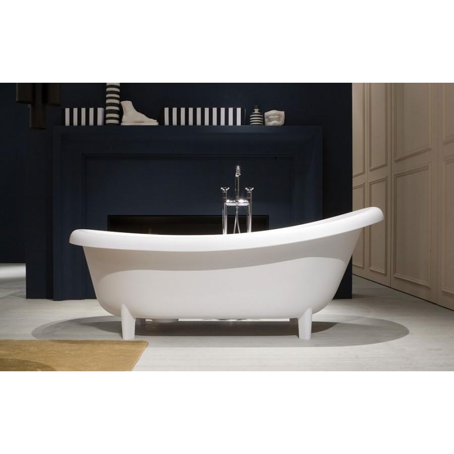 Vasca ovale con piedini modello suite di antonio lupi in - Vasca da bagno con piedini ...