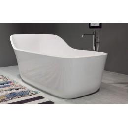 Oval Ceramilux bathtub Wanda by Antonio Lupi 178x84
