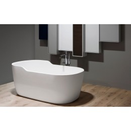 Oval Cristalplant bathtub Funny West by Antonio Lupi 151x80