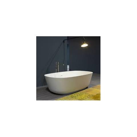 baias vasca ovale 170x70 bianco