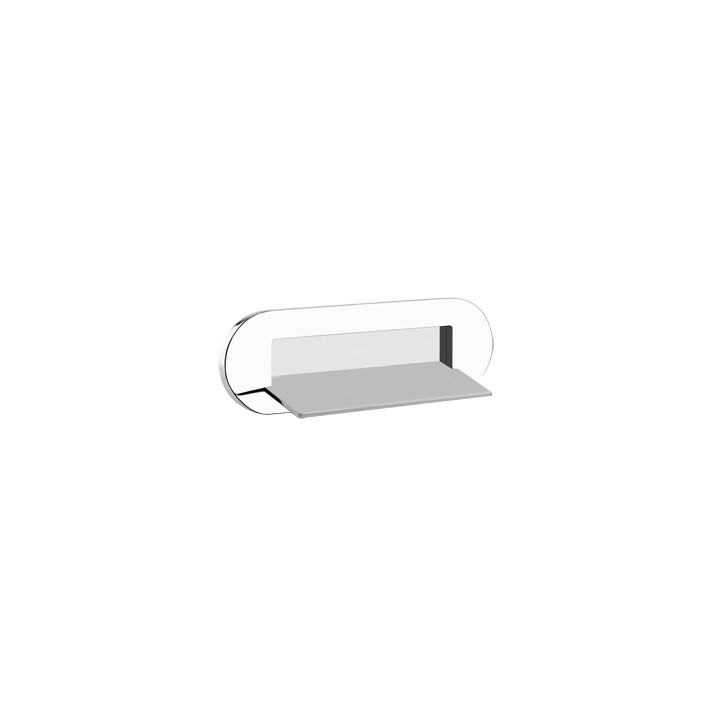 Wall fixing waterfall shower spout Cono by Gessi chrome