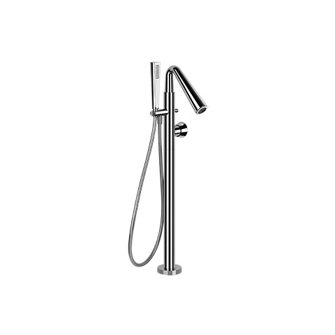 Freestanding bath mixer Cono by Gessi chrome