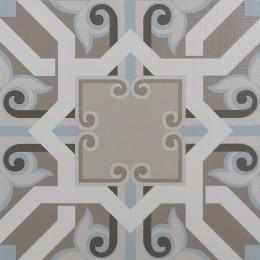 Piastrella in gres porcellanato Classic grey di Ornamenta (30x30 cm)