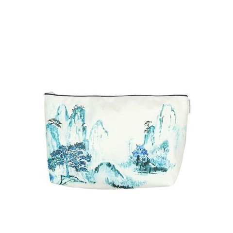 Washbag by Designers Guild Jade Temple cornflower