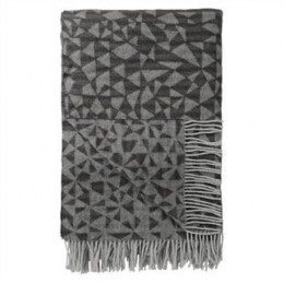 Throw by Designers Guild Voysey Charcoal