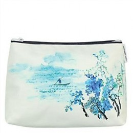 Washbag by Designers Guild Jade Temple cornflower small