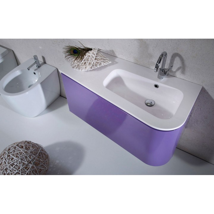 "Bath forniture ""Joker"" Arca (96,8x33/48x48) without basin mixer"