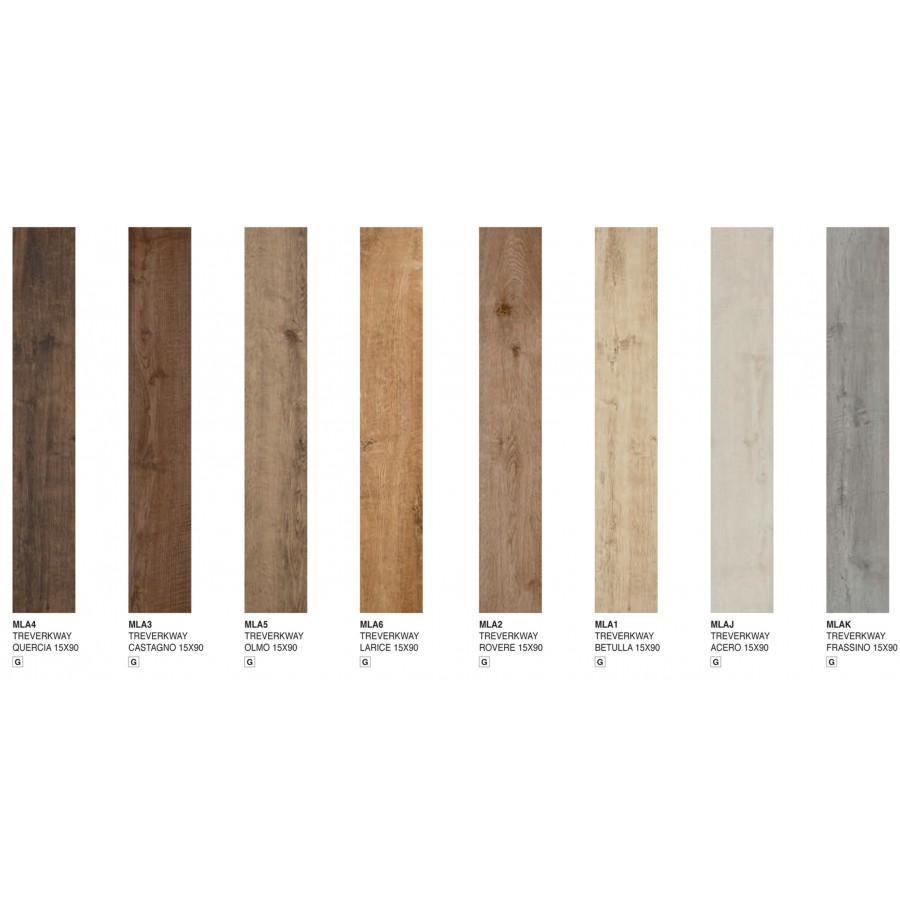 Treverkway 15x90 marazzi piastrella effetto legno in gres porcellanato smaltato - Piastrelle gres effetto legno ...