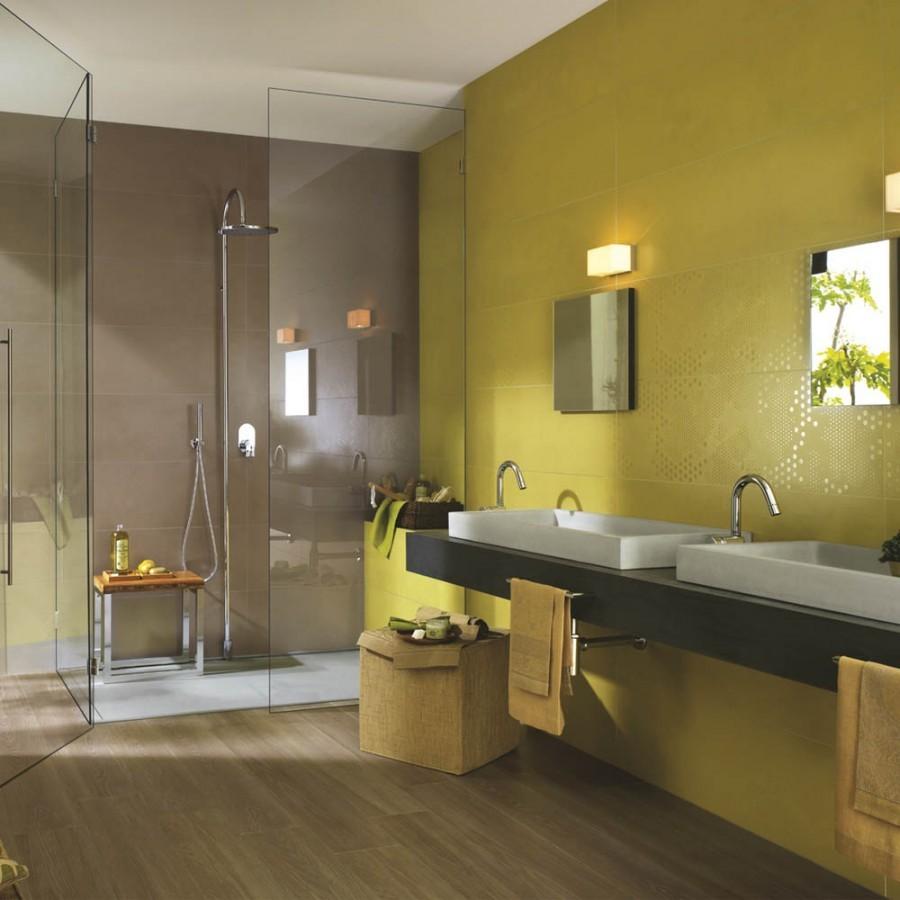 Treverk 30x120 marazzi piastrella effetto legno gres - Piastrelle bagno legno ...