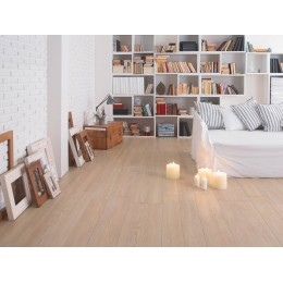 Wood effect tile treverkhome by Marazzi col birch (15x120 cm ) for livingroom