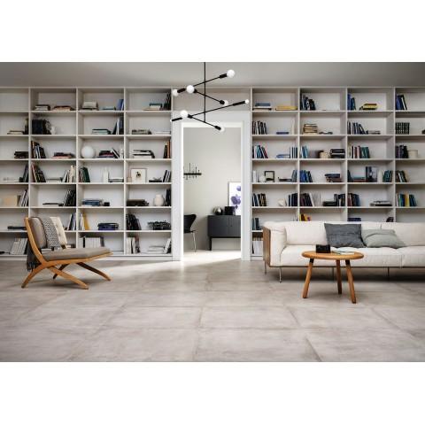Stoneware tile Clays Marazzi col. sand ( 30x120 cm) for livingroom