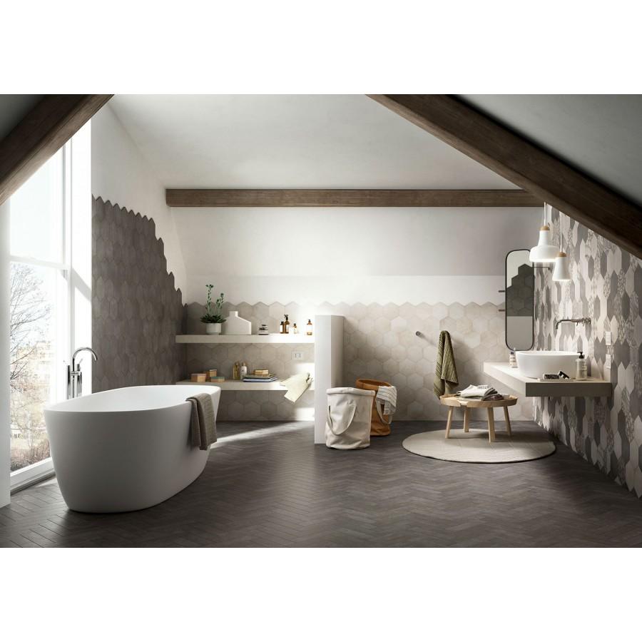 Clays 60x120 marazzi piastrella in gres porcellanato - Piastrelle esagonali cucina ...