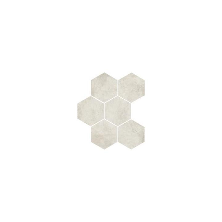 Clays 21x18,2 Marazzi piastrella esagonale in gres porcellanato