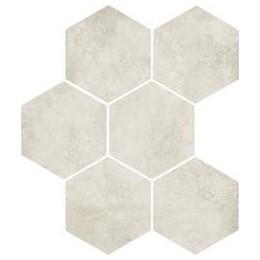 Clays 21x18,2 Naturale/Matt Marazzi piastrella esagonale in gres porcellanato