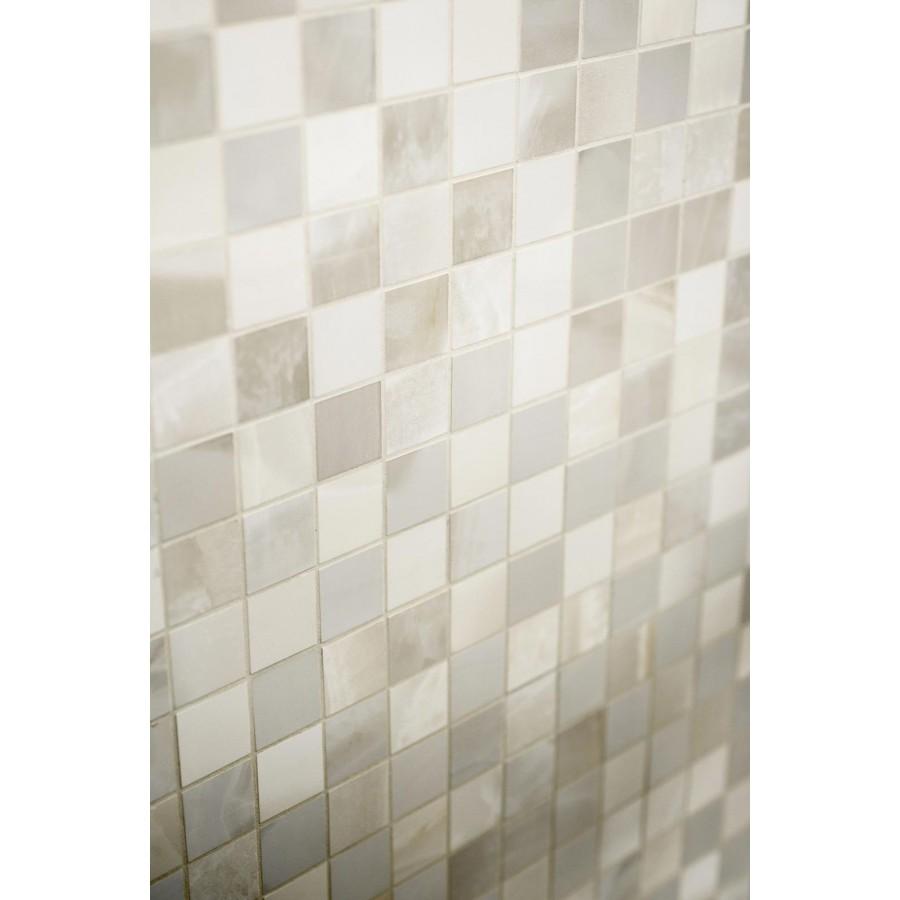 Mosaico Su Rete Rivestimento Evolutionmarble Marazzi Per