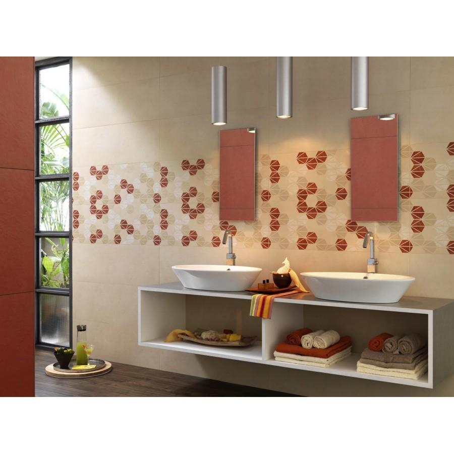 Piastrelle bagno beige excellent design piastrelle bagno - Bagno moderno piastrelle ...