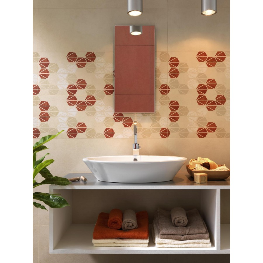 Discontinued Ragno Tile: Wall Tile Oficina7 By Marazzi Col. Grey ( 32.5x97.7 Cm)for