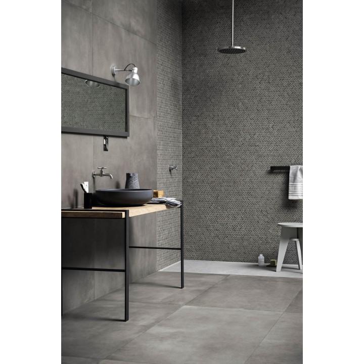 Powder 75x150 marazzi piastrella effetto cemento in gres for Ceramiche marazzi prezzi