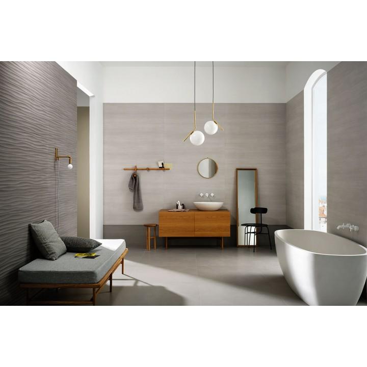 Materika 40x120 marazzi piastrella rivestimento effetto cemento satinato - Pavimenti e piastrelle bagno ...
