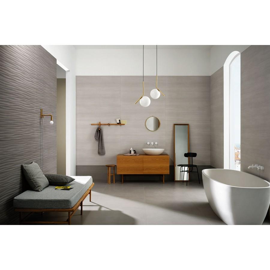 Materika 40x120 marazzi piastrella rivestimento effetto - Rimuovere cemento da piastrelle ...