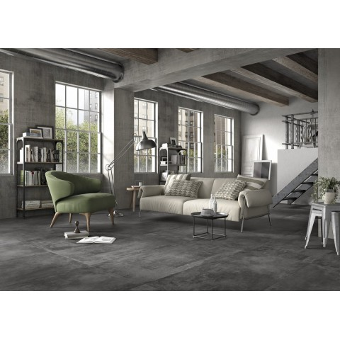 Porcelain tile Spazio col. gray marazzi ( 60x60 cm) perfect for bathroom