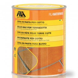 Neutral wax Naturwax Fila for terracotta, marble and stone lt.1