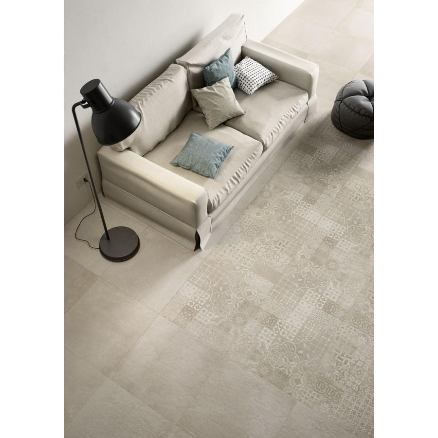 Plaster 60x120 marazzi piastrella effetto cemento in gres - Costo piastrelle gres porcellanato ...