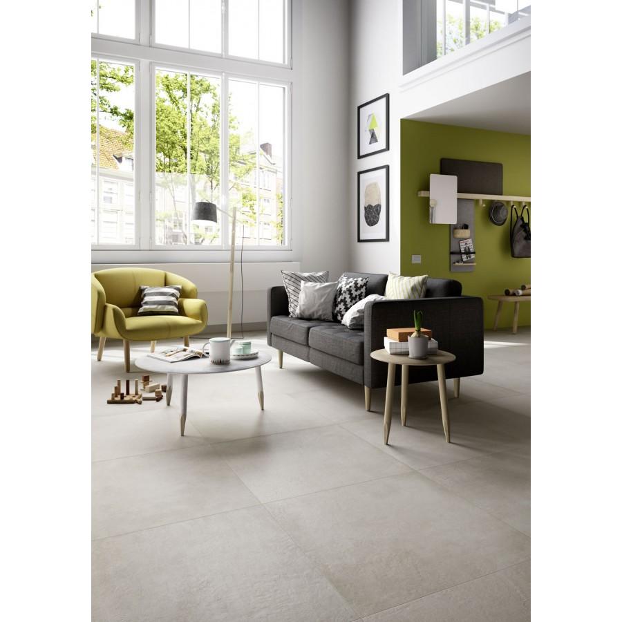 Plaster 60x120 marazzi piastrella effetto cemento in gres for Gres effetto cemento