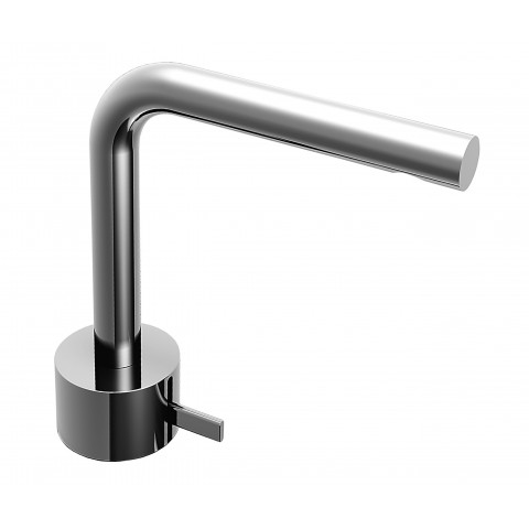 "Bidet mixer ""Fukasawa"" by Fantini brushed stainless steel"