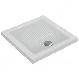 Ceramic shower tray Connevt by Ideal Standard (80x80x6 cm) white