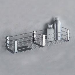 Porta oggetti vasca/doccia con ripiano in inox (cm 44 ) cromo