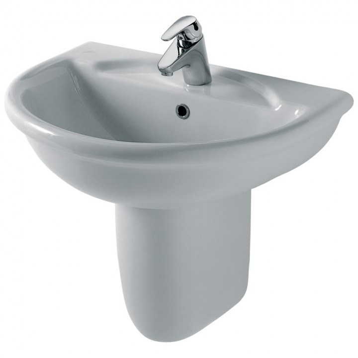 Lavabo sospeso modello esedra di ideal standard for Arredo bagno ideal standard