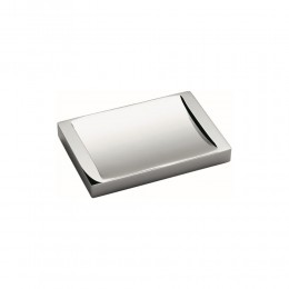 Soap dishes support Look by Colombo chrome plated brass (13X9X1.5 CM)