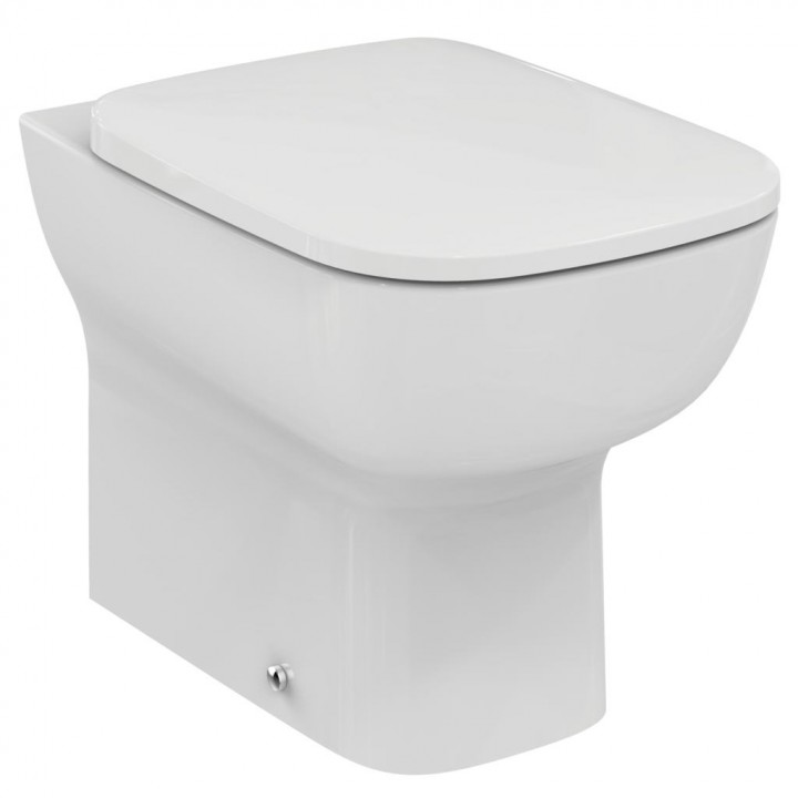 Wall hung bidet esedra by ideal standard 35 6x55 cm for Serie esedra ideal standard
