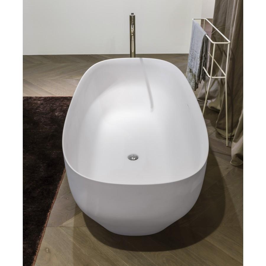 Vasca da bagno ovale in Ceramilux lucido o opaco di ...