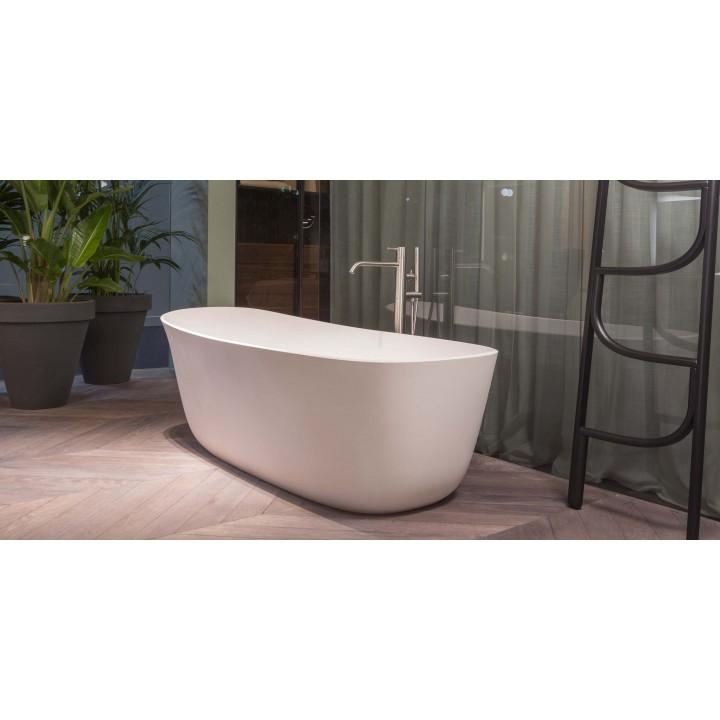Vasca da bagno ovale in cristalplant di modello dafne di - Modelli di vasche da bagno ...
