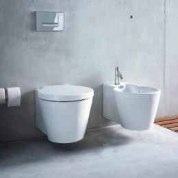 "Wall hung bidet ""Starck 1 "" by Duravit white"