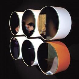 Mirror M3 by Moab col. white diameter 20 cm