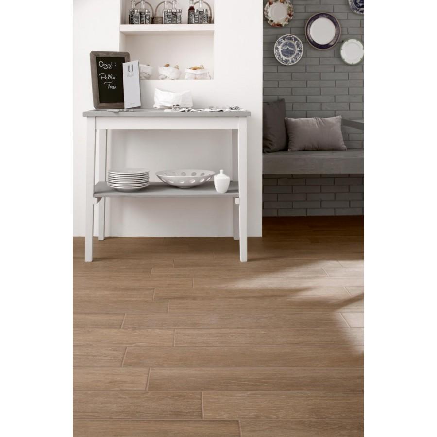 Wood Effect Tile Treverkmood By Marazzi Col. Mahogany