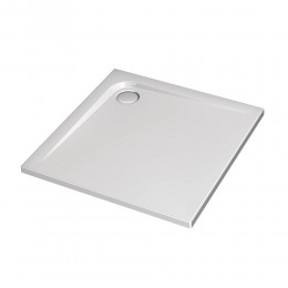 Achrylic shower tray Ultraflat by Ideal Standard (80x80x4 cm) white