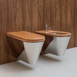 """Toilet cover """"John"""" by Rapsel in beechwood"""
